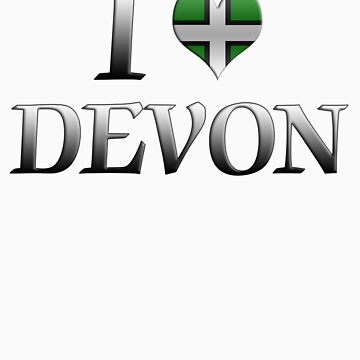 I Love Devon by MadTogger