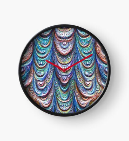 Frozen liquid Impression #DeepDream #Art Clock