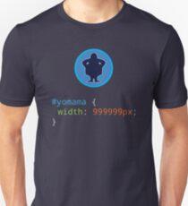 CSS Pun - Yo mama Unisex T-Shirt