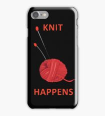 Knit Happens iPhone Case/Skin