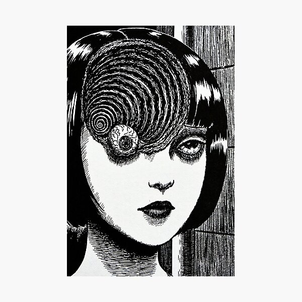 UZUMAKI Photographic Print