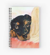 Paisley Spiral Notebook