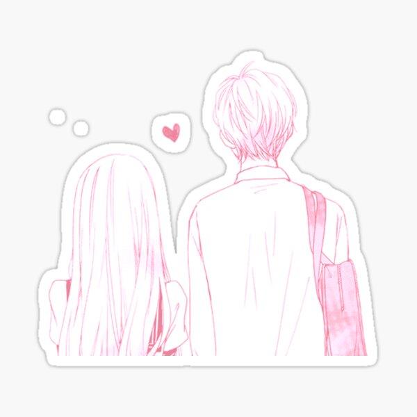 Anime Couple Sticker