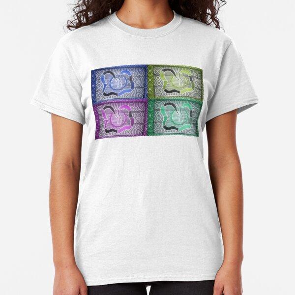 Snake Dreaming Remix Classic T-Shirt