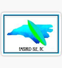 Carolina Surfboards   (Emerald Isle) Sticker