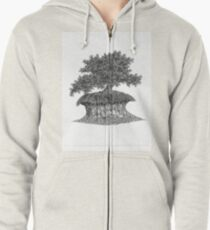 Drought Resistant Zipped Hoodie