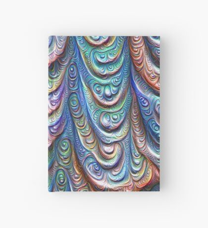 Frozen liquid Impression #DeepDream #Art Hardcover Journal