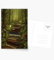 The Reader's Path Postcards