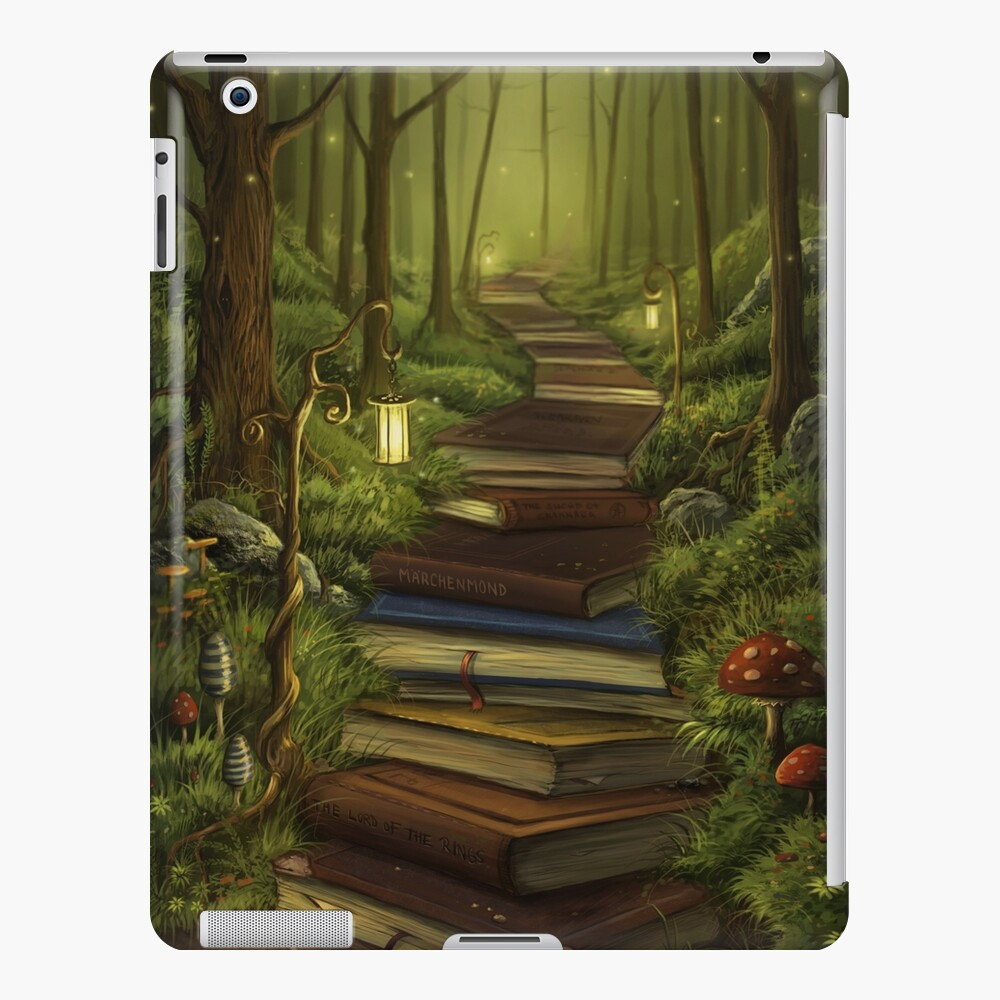 The Reader's Path iPad Case & Skin