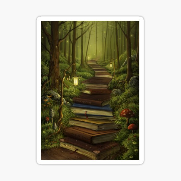 The Reader's Path Sticker