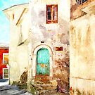 Buildings in the historic center of Tortora by Giuseppe Cocco