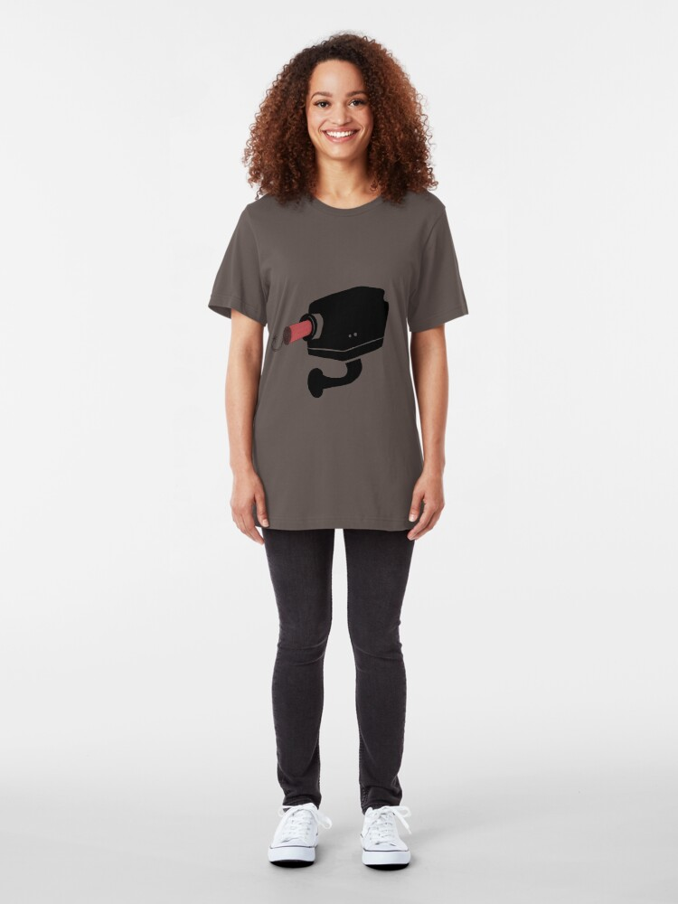 Alternate view of Blow your CCTV Slim Fit T-Shirt