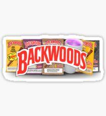 BACKWOODS VINTAGE HIPHOP SHIRT Sticker