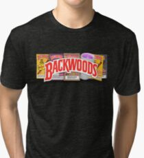 BACKWOODS VINTAGE HIPHOP SHIRT Tri-blend T-Shirt