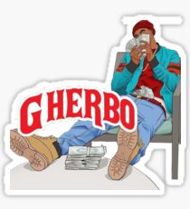 G HERBO YEA I KNOW SHIRT Sticker