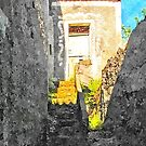 Tortora glimpse with stair by Giuseppe Cocco