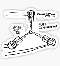 BTTF: Flux capacitor Sticker