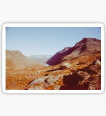 Norway - Jotunheimen National Park Shot on Film Sticker