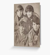 The Monkees Greeting Card