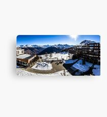 Thyon 2000 Panorama Canvas Print