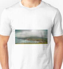 achill island panoramic landscape ireland Unisex T-Shirt
