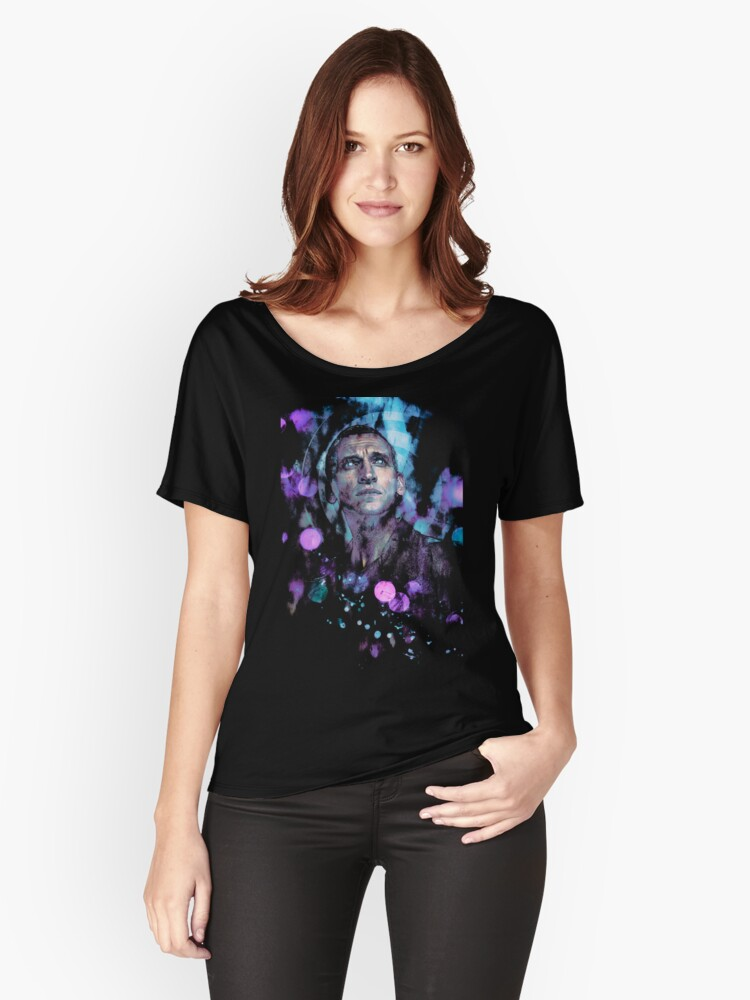 The Ninth Doctor Women's Relaxed Fit T-Shirt Front