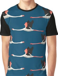 Pattern with flamingos Graphic T-Shirt