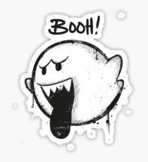 SUPER BOO! by Mien Wayne Sticker