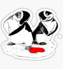 Penguin Lovers Sticker