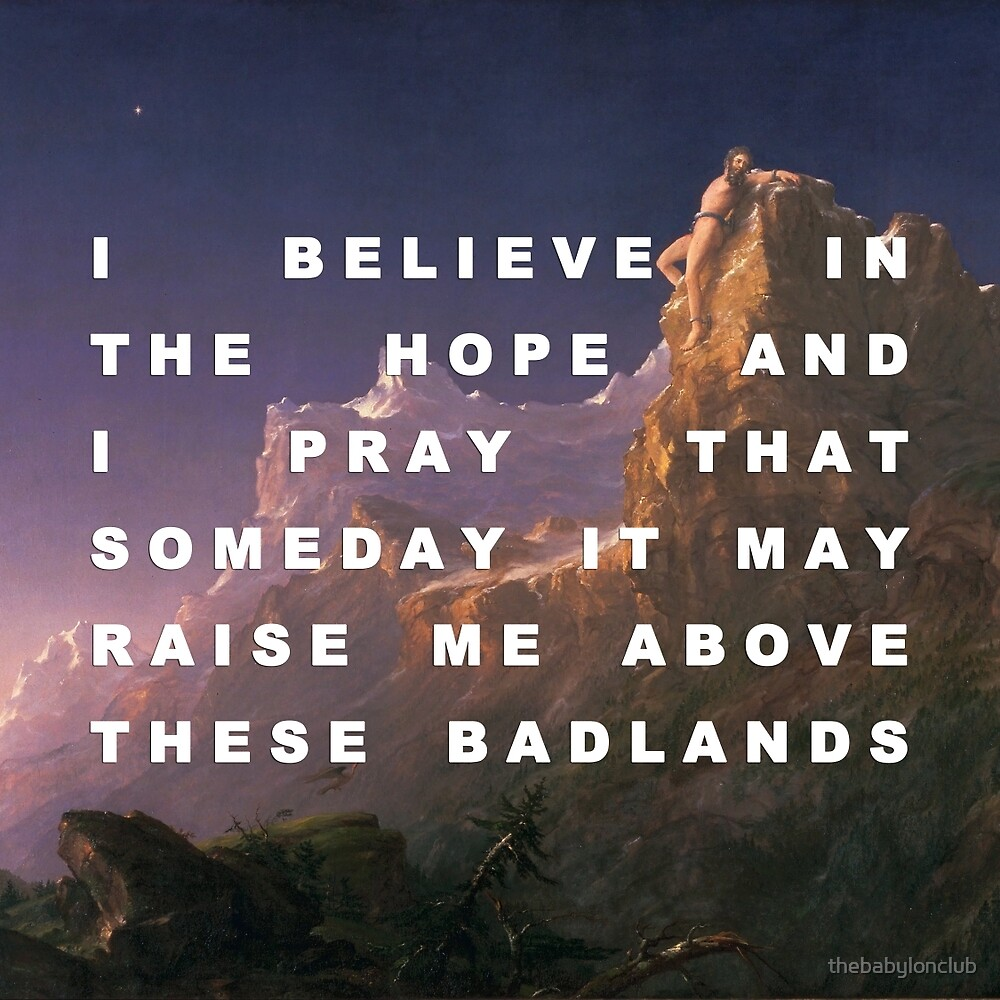 Prometheus Bound to the Badlands by thebabylonclub