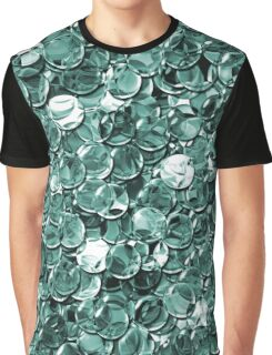 crystal green balls mix transparent Graphic T-Shirt