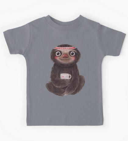 Sloth I♥lazy Kids Clothes