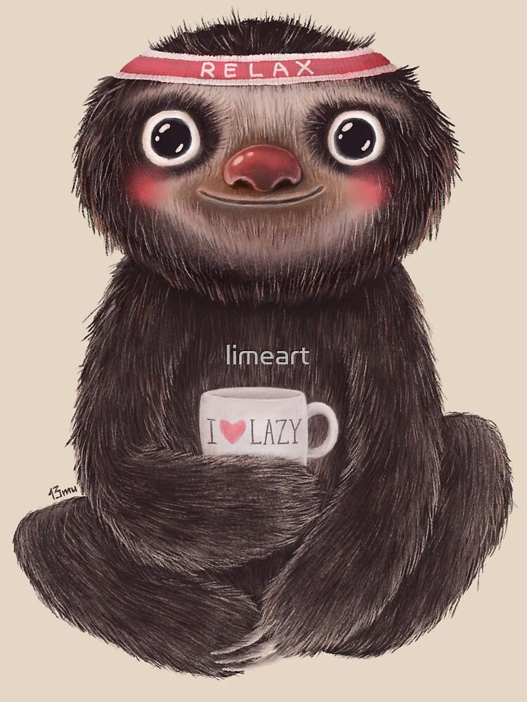 Sloth Ilazy   Unisex T-Shirt