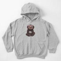 Sudadera con capucha para niños Sloth I ♥ perezosa