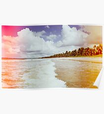 Pristine Brazilian Beach Shot on Film Poster