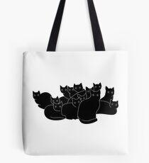 Cat gang Tote Bag