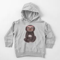Sloth I♥yoga Toddler Pullover Hoodie