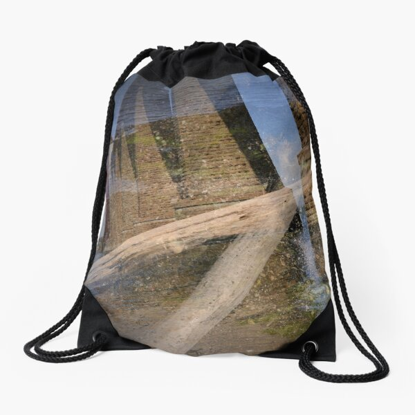 Forth Rail Bridge Drawstring Bag