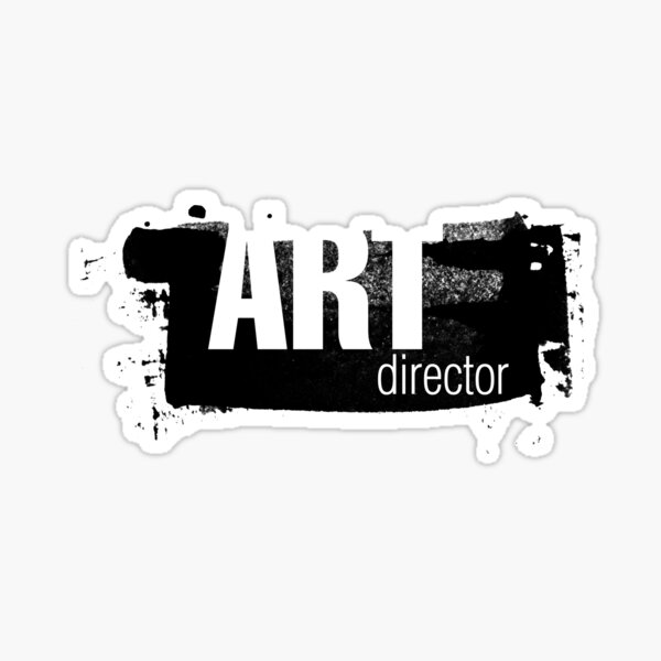 Film Crew II. Art Director. Sticker