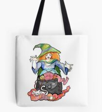 Knitting Witch  Tote Bag