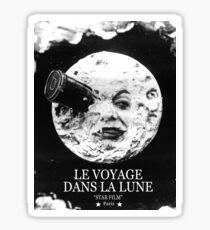 A Trip to the Moon (Le Voyage Dans La Lune)  Sticker