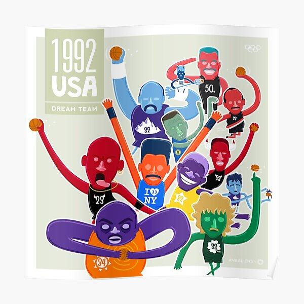 NBAlien Dream Team Poster