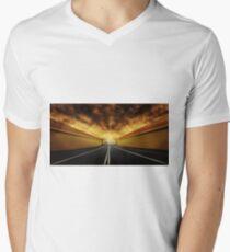 Vacant Mens V-Neck T-Shirt