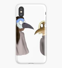 Plague Doctors - Mordecai & Rigby iPhone Case/Skin