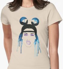 Adore Delano Watercolor Women's Fitted T-Shirt