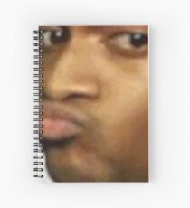 Conceited Reaction Twitter Meme Spiral Notebook