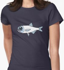 CAUGHT - A School of Fish  Women's Fitted T-Shirt