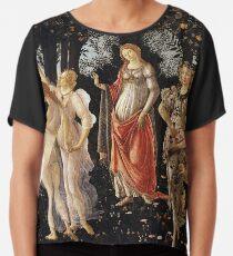 Primavera - Sandro Botticelli Chiffon Top