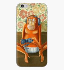 Monkey play iPhone Case