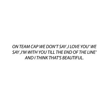 TILL THE END FO THE LINE TEAM CAP by softseb